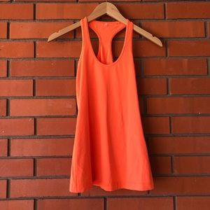 Lululemon Orange Racerback